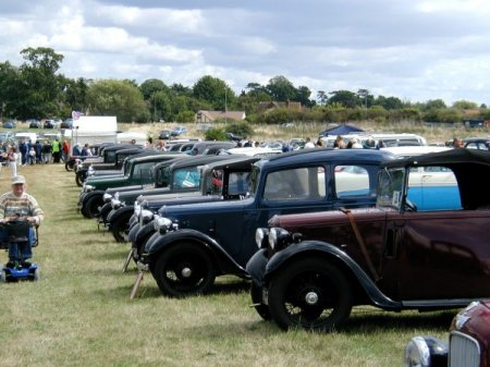 Austin 7s at Littlewick Pic