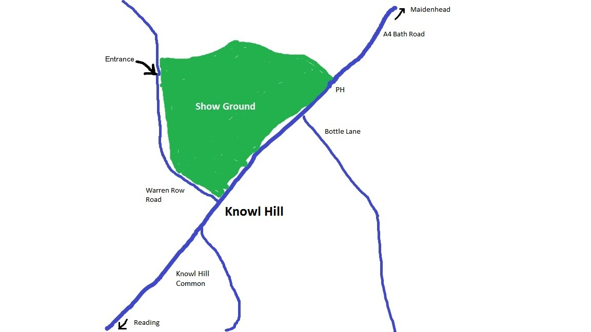 Map of Show Site Location